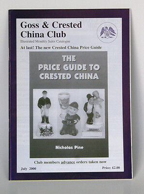 Goss & Crested China Club - Illustrated Monthly Catalogue, July 2000