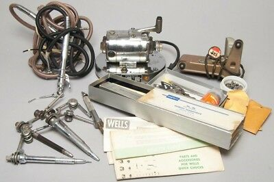 HUGE Lot of Vintage Dentistry Tools Emesco Motor Hand Drills & LOTS of Extras!
