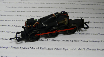 Hornby H76 0-6-0 DCC Fitted Chassis Blackened Wheels & Red Rods