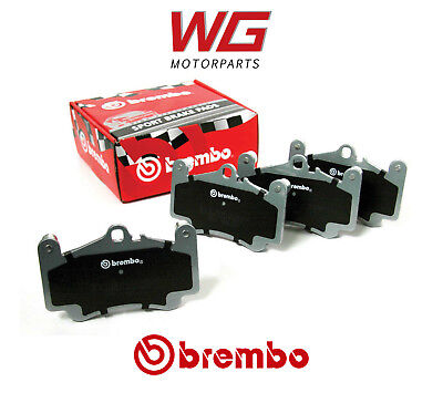 Brembo Sport HP2000 Rear Brake Pads for Peugeot 206 1.6 HDi (1998) Models