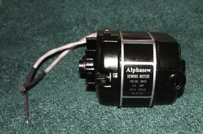 NEW Alphasew MOTOR for Singer 221 & 222 Featherweight Sewing Machines w/Pulley