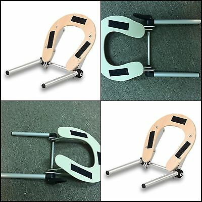 NEW Massage Table Headrest Spa Aluminum Adjustable Face Cradle for Cushion Pad