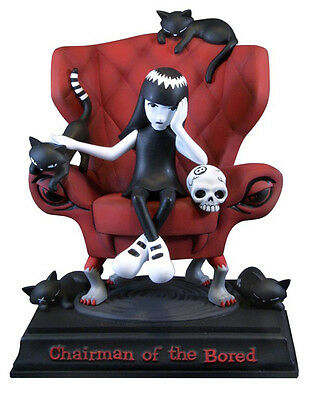 Emily the Strange Chairman of the Bored Limited edition Statue