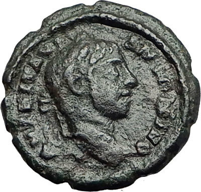 ELAGABALUS 218AD Marcianopolis Authentic Ancient Roman Coin NEMESIS i65025