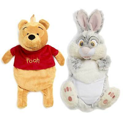 Primark Official DISNEY Winnie the Pooh or Thumper Character Hot Water Bottle