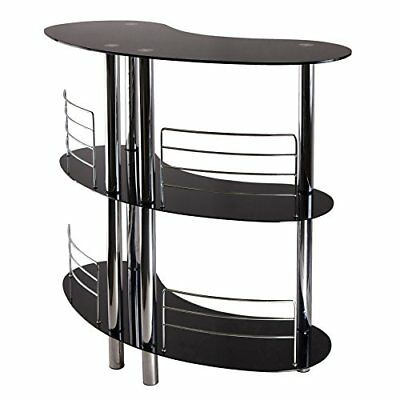 Home Bar Furniture Wine Mini Accessories Half Moon Table Decor Counter  Height