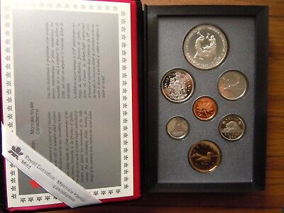 Royal Canadian Mint 1988 Double Dollar Proof Sets - 3 sets of 7 coins