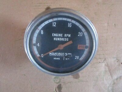 Oliver tractor 1750,1755,1850,1855,1950,1955,2050,2150 tachometer LOW HOUR