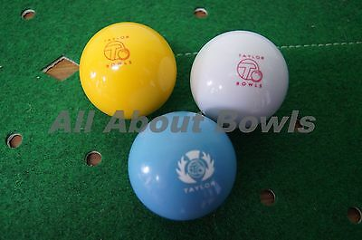 Lawn Bowls Jack - White, Yellow or Blue