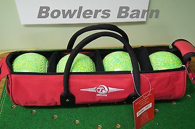 Taylor 4 Bowl In-line Cylinder Bag with Shoulder strap
