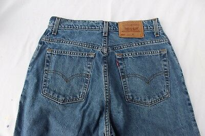 VTG 90s Levis 550 Jeans Relaxed Fit Tapered Leg Womens Size 12 Reg L USA 30 x 33