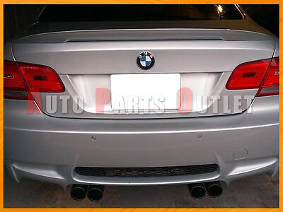 High Kick Trunk Spoiler 07-13 BMW E92 P Style #A52 Space Gray Metallic Painted