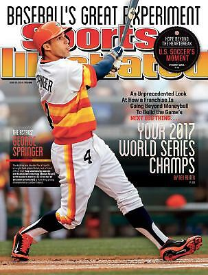Huge 2014 Si Cover Predicting That Astros Win The 2017 World Series