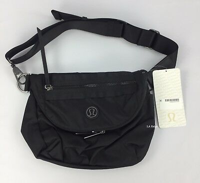 Lululemon Festival Bag Black NEW Crossbody Purse Fanny Pack Lulu Festival Bag