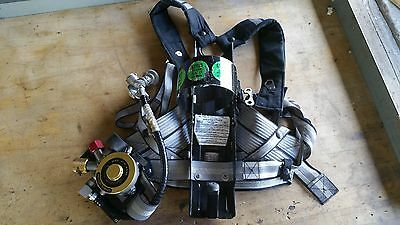 MSA Custom 4500 II Air Mask, back harness only, No mask included
