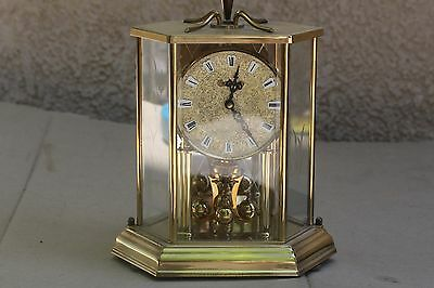 Old mechanical table Clock, Germany