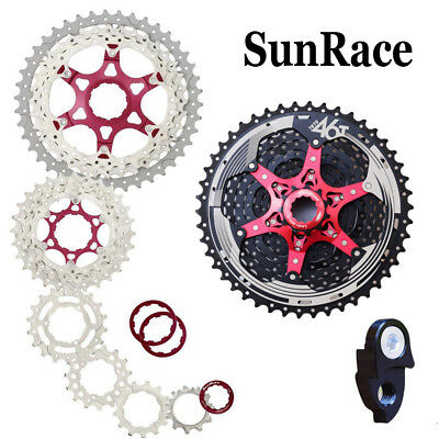 Bicycle Speed Gearbox Cassette Sunrace 11 Gear 11-46t Csmx8eaz 11-way Csmx8 Cycling