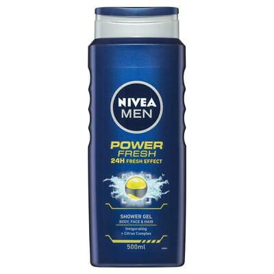 Nivea for Men Power Refresh Shower Gel 500ml