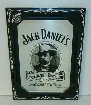 Jack Daniels brand new in box 32cm x 22cm mirror for home bar pub or collector
