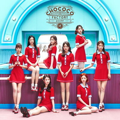 GUGUDAN - Chococo Pactory (1st Single Album) CD+Photobook+2Photocards