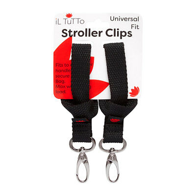 STROLLER CLIPS FOR NAPPY BAG from Il Tutto