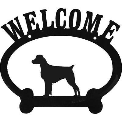 Welcome Sign - Brittany Spaniel