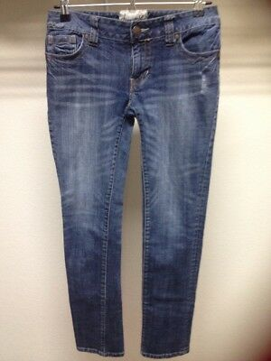 American Rag Cie Junior Size 5S Denim Distressed Jeans Pre-Owned *(8)