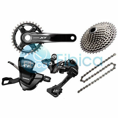 New 2018 Shimano Deore XT M8000 11s Group Groupset 30/32/34t 170/175mm 40-46t