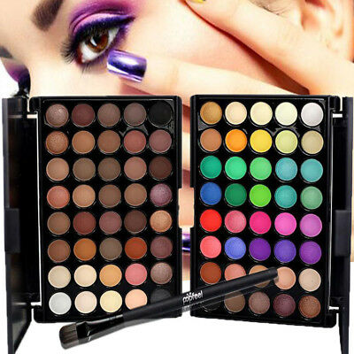 New 40 Colours Eyeshadow Eye Shadow Palette Makeup Kit Set Professional Box 40-G