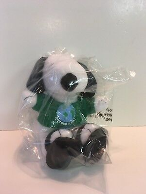 """""""Save Our Planet"""" Peanuts Snoopy Doll- Pre-owned but New in Bag- Met Life"""
