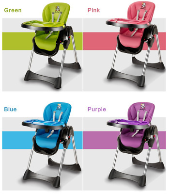 Hahaya Foldable Baby/infant/Toddler/Kids/Children Feeding High Chair Seat