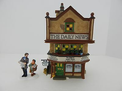 Dept 56 Dickens Village The Daily News #58513 Good Condition