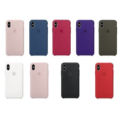 For New Apple iPhone 7 8 Plus iPhone X Silicone Case Cover