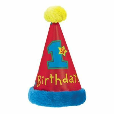 All Aboard 1st Birthday Faux Fur Paper Cone Hats Baby Party