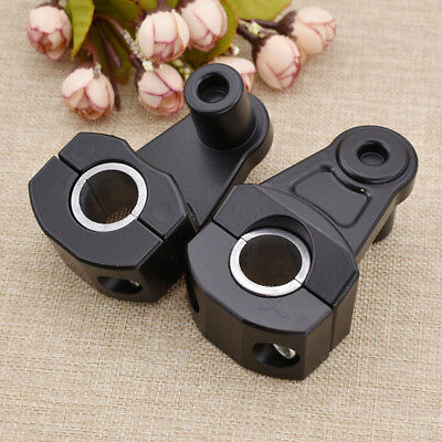 22mm/28mm Modified Handlebar Fat Bar Mount Clamp Riser Supplies for Motorcycle