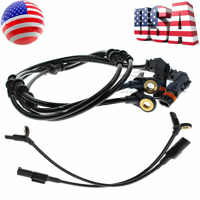 4pcs Front Rear ABS Wheel Speed Sensor for Mercedes Benz W164 GL ML320 ML350