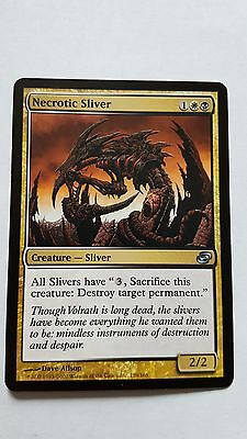 1x NECROTIC SLIVER - Rare - Planar Chaos -  MTG - NM - Magic the Gathering
