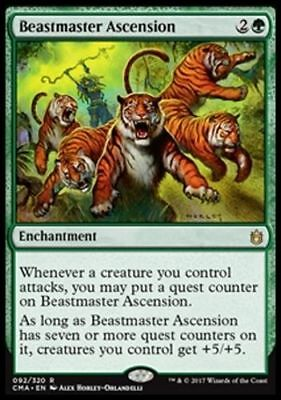 1x BEASTMASTER ASCENSION - Rare - Commander/Zen - MTG - NM - Magic the Gathering