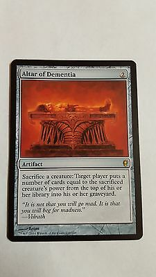 1x ALTAR OF DEMENTIA - Conspiracy - Rare - MTG - NM - Magic the Gathering