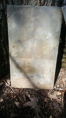 Set Of 3 Antique Slate Roofing Tiles Large 18X24