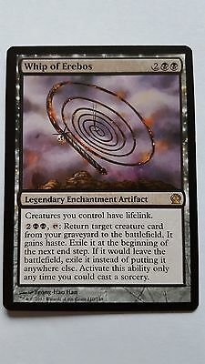 1x WHIP OF EREBOS - Rare -  Theros - MTG - NM - Magic The Gathering