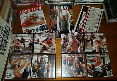 Tapout xt - Trainning, Exercise & Eating Dvd Program (8 Dvds) ($20 OFF)
