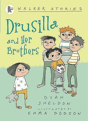 """""""NEW"""" Drusilla and Her Brothers (Walker Story), Sheldon, Dyan, Book"""