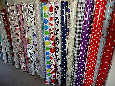 Pvc Vinyl Oilcloth   Material For Tables Aprons Crafts Etc Over 30 Designs