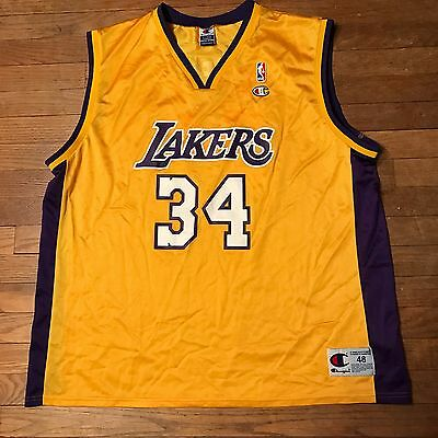 vintage shaquille oneal jersey eBay