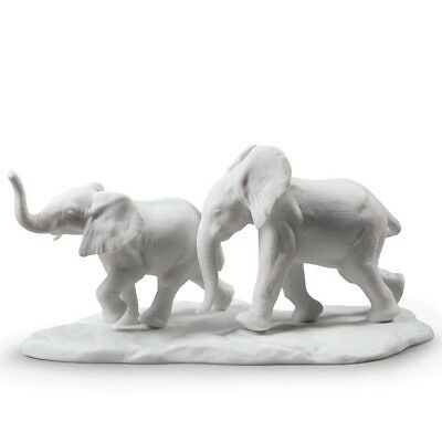 Lladro Following the Path - White