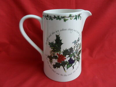 Portmeirion, The Holly & the Ivy, Bella Large Jug (holds approx 3 pints)