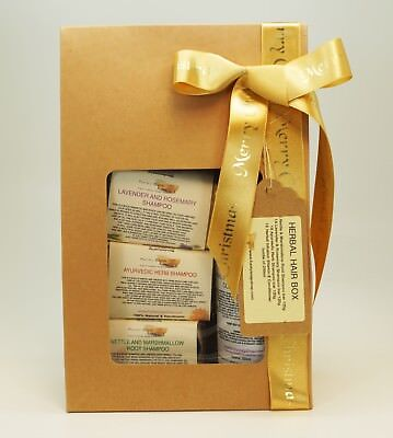 "1x Christmas Edition Funky Soap Gift Box ""Herbal Hair"""