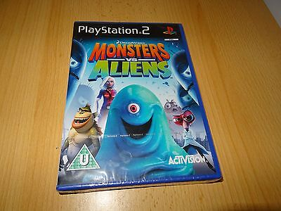 Monsters vs. Aliens - PS2 Game - New Sealed PAL