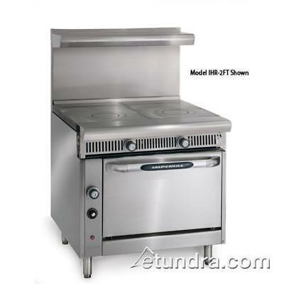 """Imperial - IHR-2FT - Diamond Series (2) 18"""" French Tops w/ Standard Oven"""